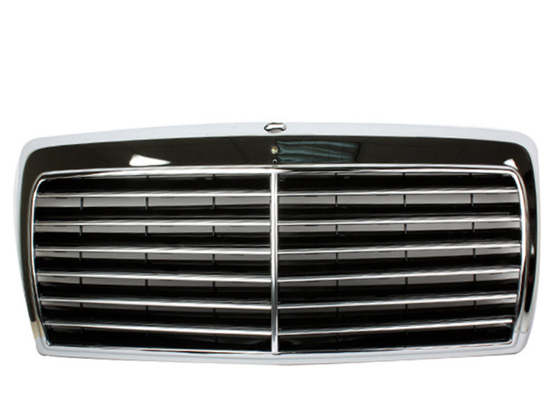 All Chrome Front Grill For Mercedes Benz W124 E-Class 300E 260E 400E 500E