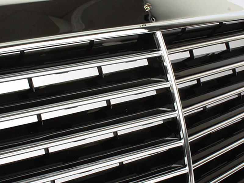 All Chrome Front Grille For Mercedes Benz W124 E-Class 300e 260e 400e 500E