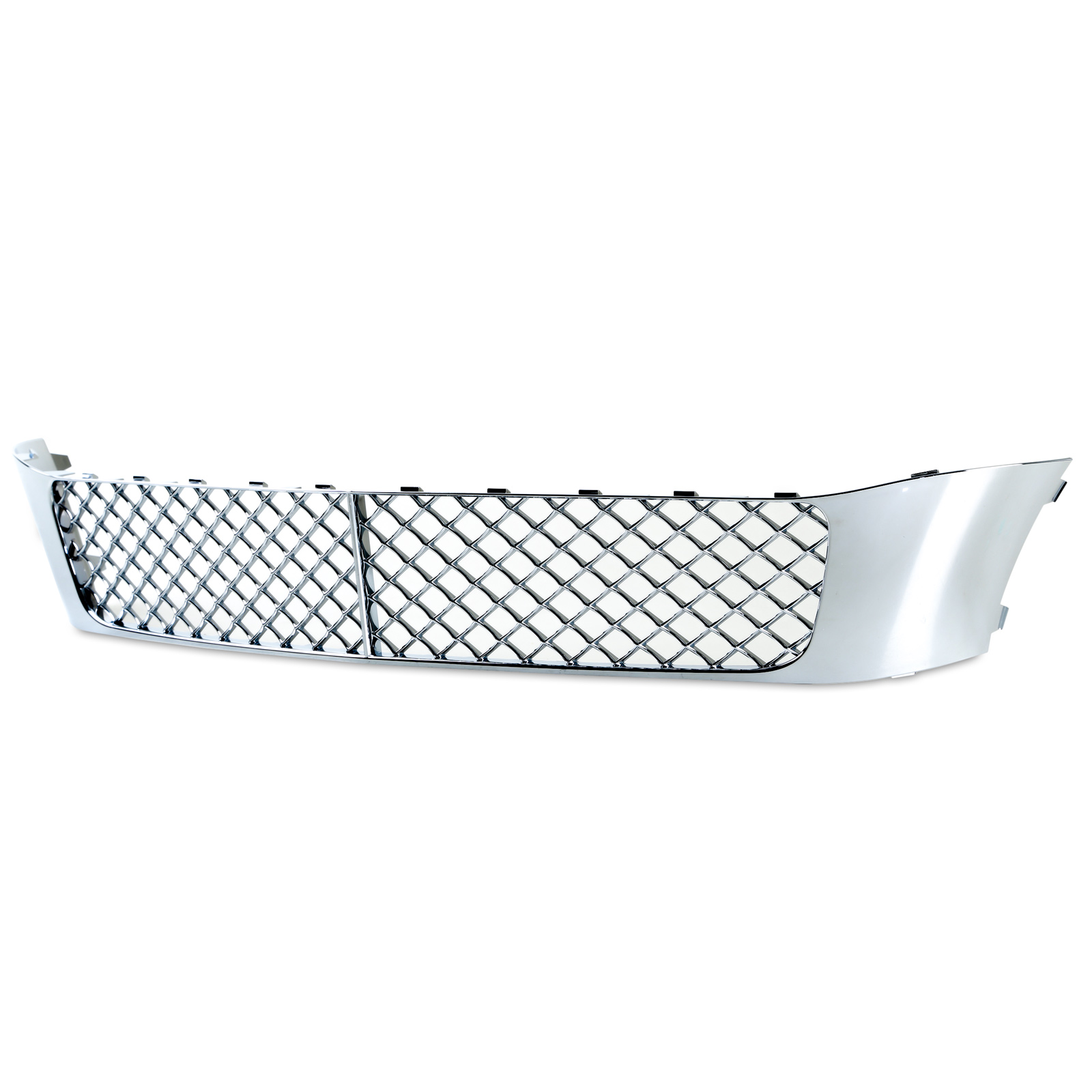 Chrome Mesh Front Bumper Lower Grille For Bentley Continental Flying Spur 4D