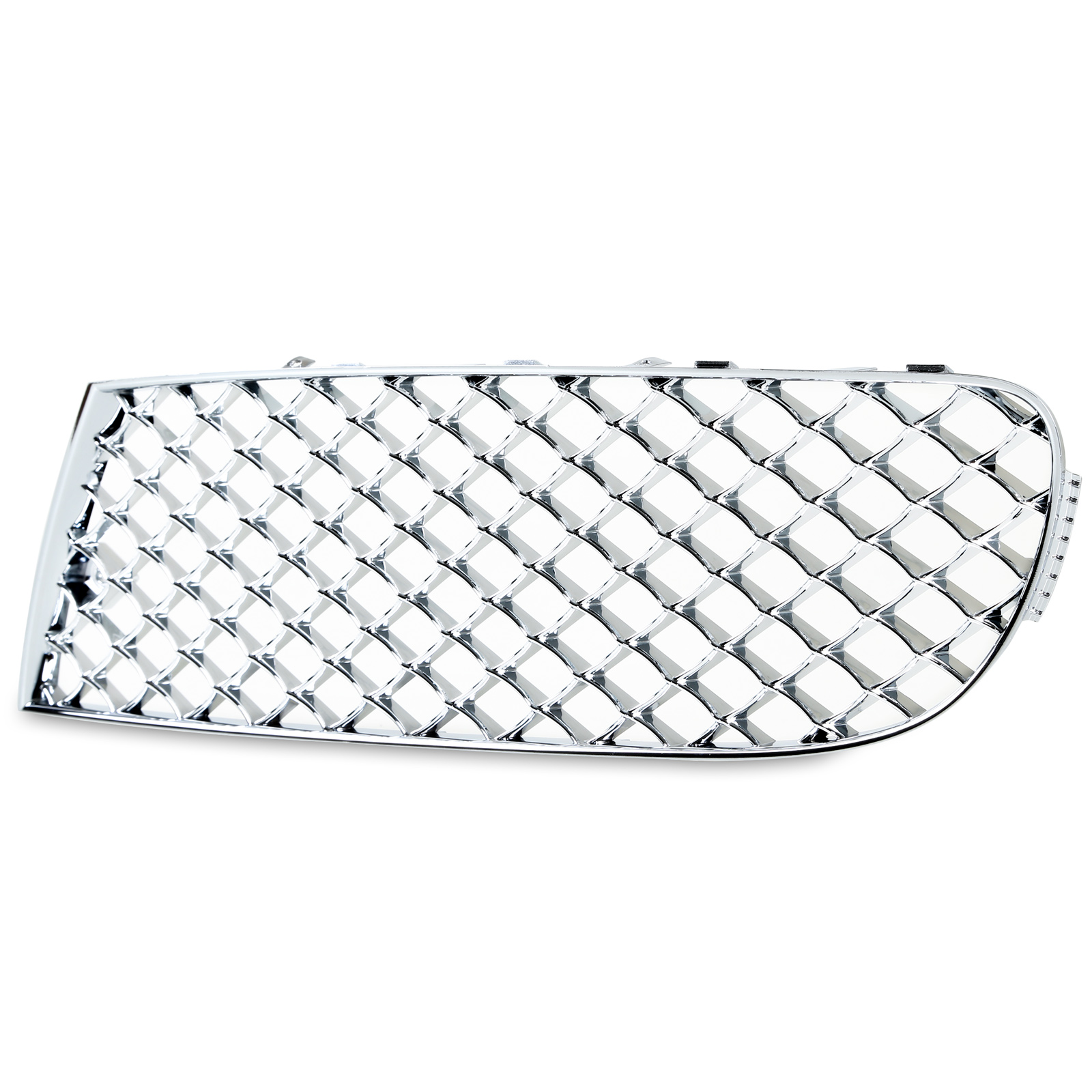 * Chrome Mesh Front Bumper Lower Grille For Bentley