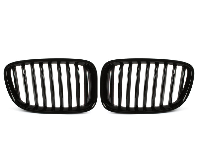 Shiny Gloss Black Front Bumper Kidney Grille BMW F07 5GT Gran Turismo 09-15