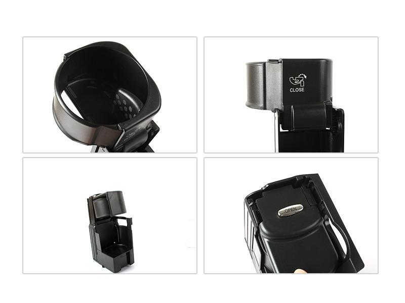 Black cup holder for mercedes benz 06 11 cls c219 04 09 for 2006 mercedes benz cls500 cup holder