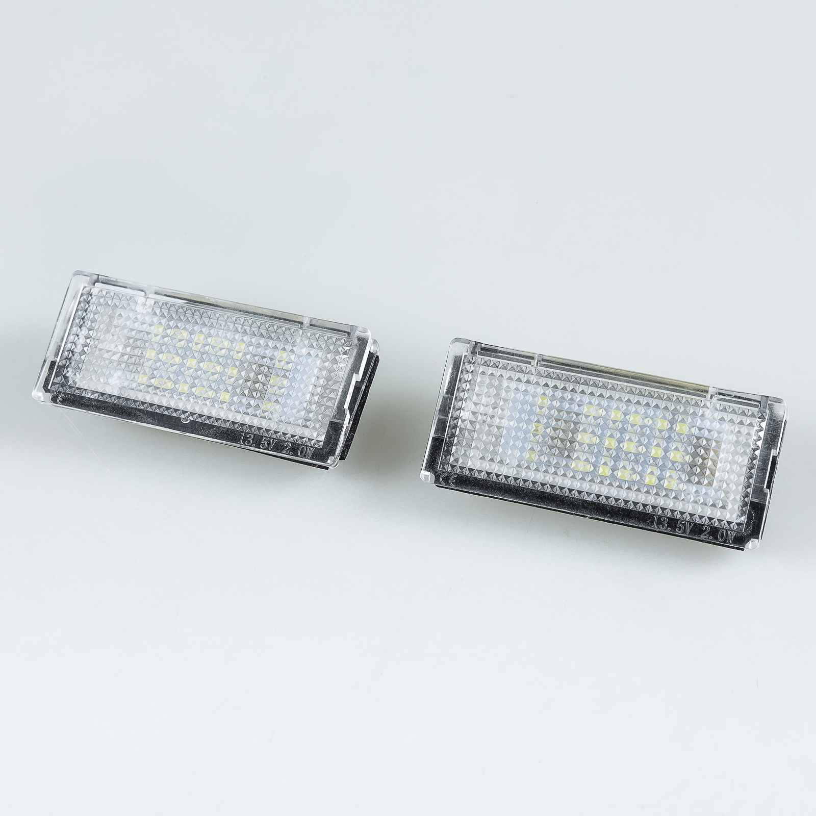 BMW E46 4D 5D LED LICENSE NUMBER PLATE LAMP LED BULB SEDAN TOURING