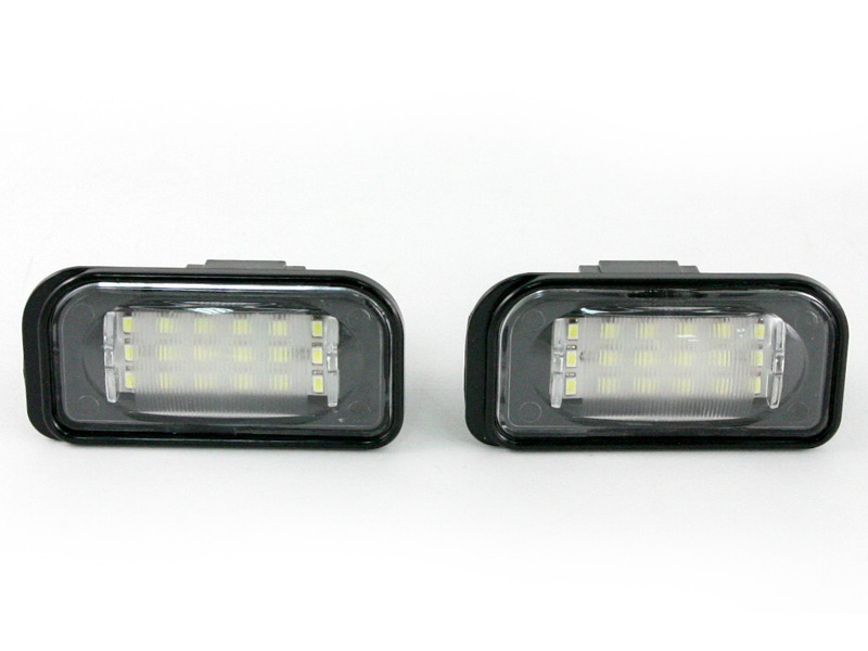 LED License Plate Lamp Light Mercedes Benz W203 Saloon Sedan