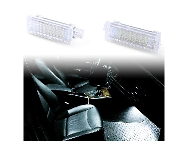 LED Courtesy Door Light For BMW E60 E63 E64 E92 Mini R50 R52 R53 R55 R57