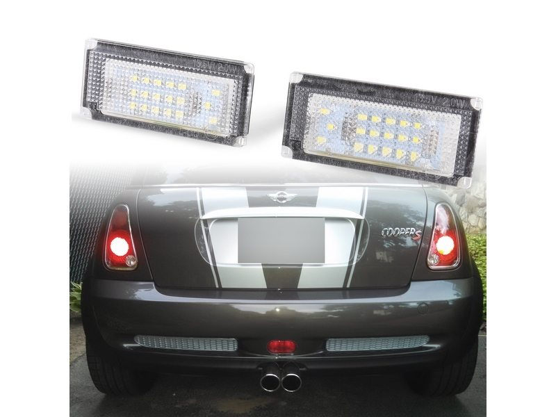 BMW Mini Cooper R50 R52 R53 License Number Plate LED Light Bulb