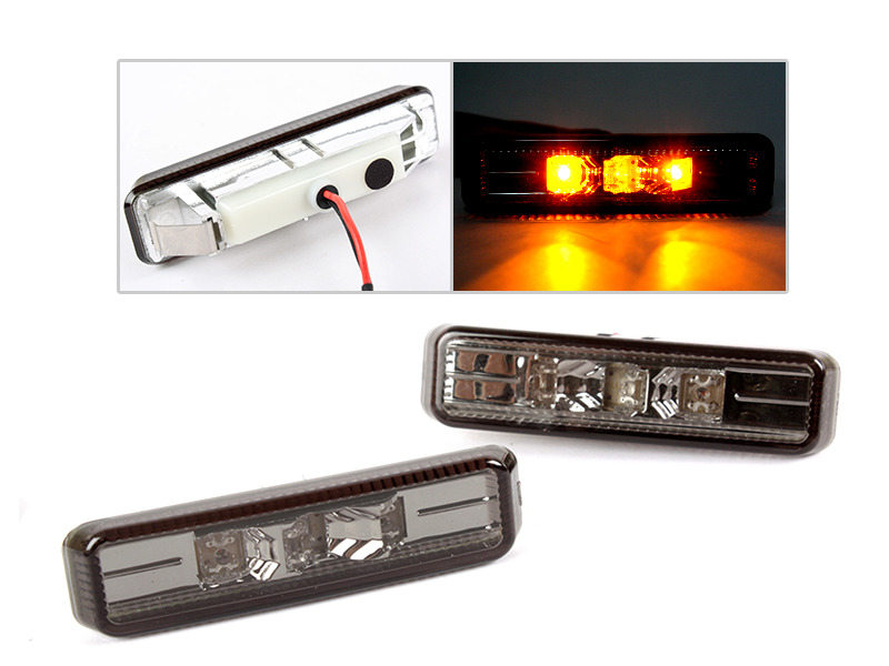 BMW 97-03 E39 SMOKE LED SIDE MARKER REPEATER INDICATOR M5