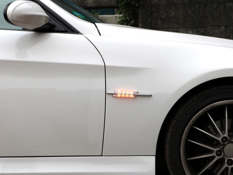 BMW E90 E91 E92 E93 E60 E61 E82 E88 LED SIDE MARKER REPEATER LIGHT LED CLEAR