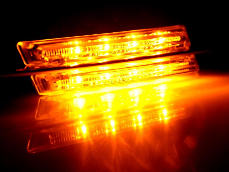 LED Side Marker Repeater Light Smoke For BMW E90 E91 E92 E93 E60 E61 E82 E88
