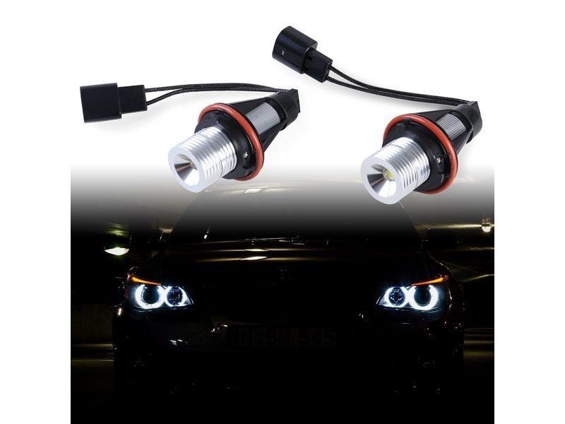 5W LED Angel Eye Halo Light For BMW E39 E60 E63 E64 E65 E66 E83 X3 E53 X5