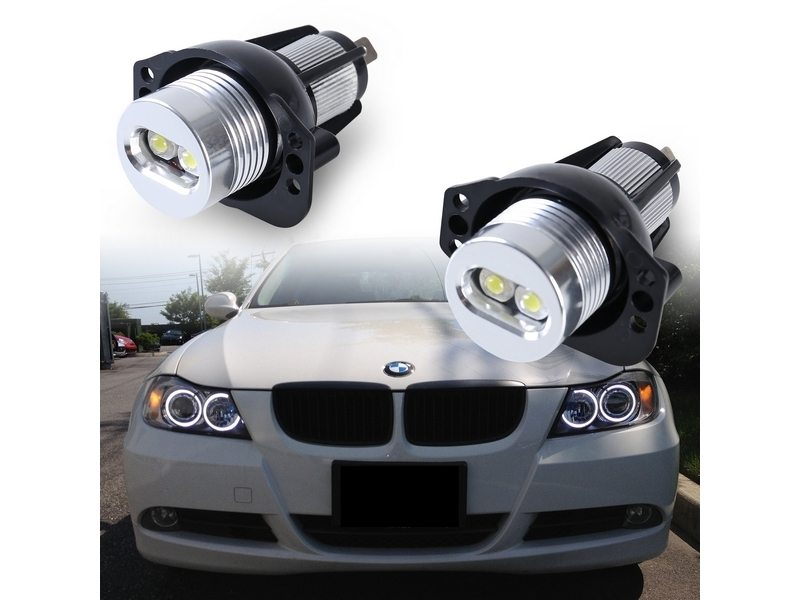 Angel Eye Eyes LED Light Bulbs For BMW E90 E91 3 Series
