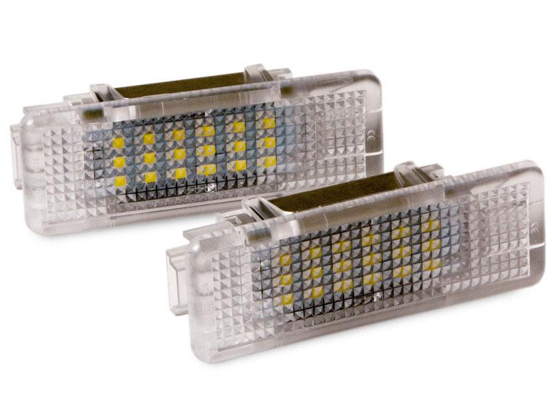 BMW E39 E53 X5 M5 530i 528i DOOR LAMP LED COURTESY FOOTWELL LIGHT