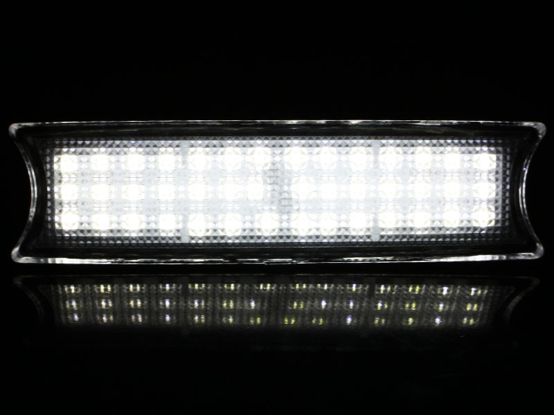 BMW E46 LED Center Dome Overhead Interior Reading Map Light Lamp Set