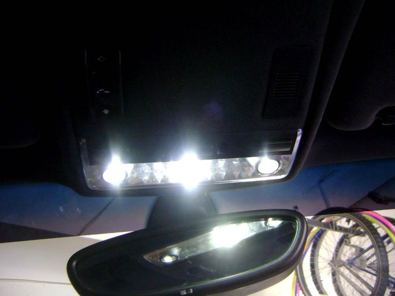 BMW E53 X5 LED Center Dome Overhead Interior Reading Map Light Lamp Set