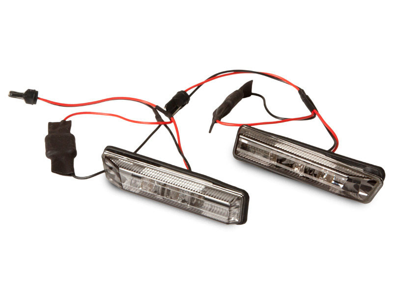 BMW E53 X5 E36 Sedan Coupe Side Marker Repeater LED Lights Error Free- SMOKE