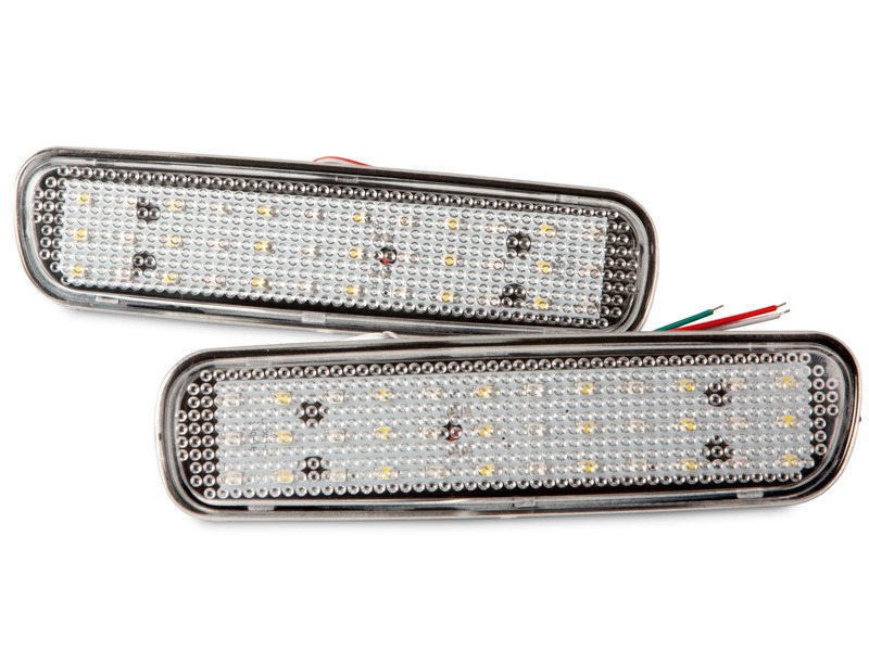 Clear Lens Bumper Reflector LED Brake Light Lexus LX470 Toyota Land Cruiser