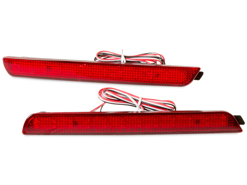 Red Lens Bumper Reflector LED Tail Brake Light Mazda3 Axela 2004-2009