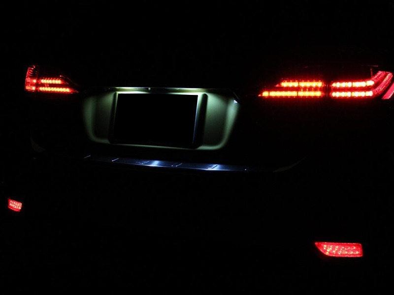 Clear Lens Bumper Reflector LED Tail Brake Light Lexus CT 200h Toyota Corolla