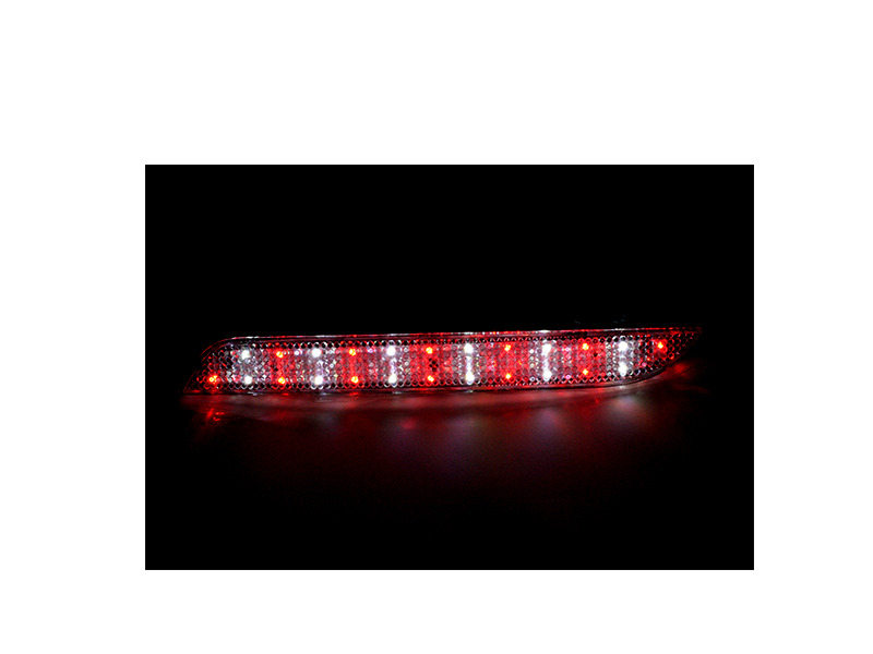 Clear Lens Bumper Reflector LED Tail Brake Light 11-14 BMW F10 F11 F18 5-Series