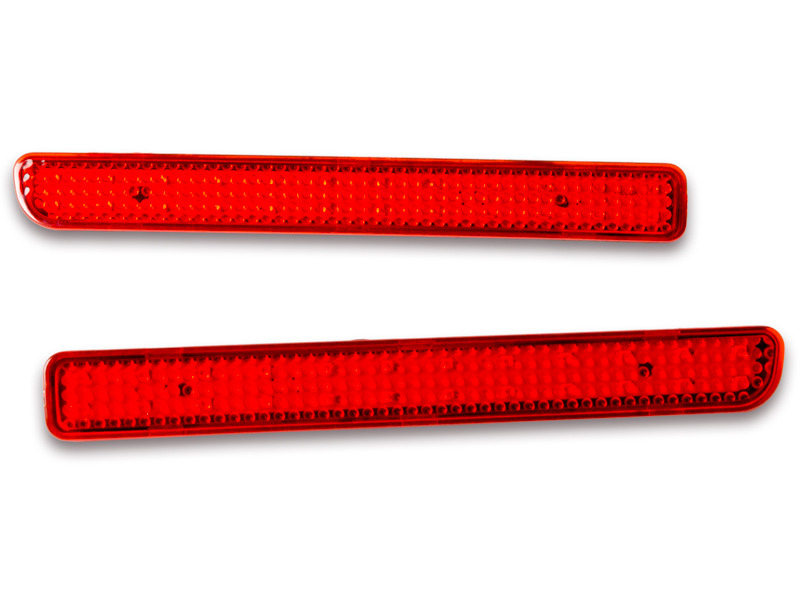 Red Lens Bumper Reflector LED Tail Brake Light Range Rover Sport LR3 LR4