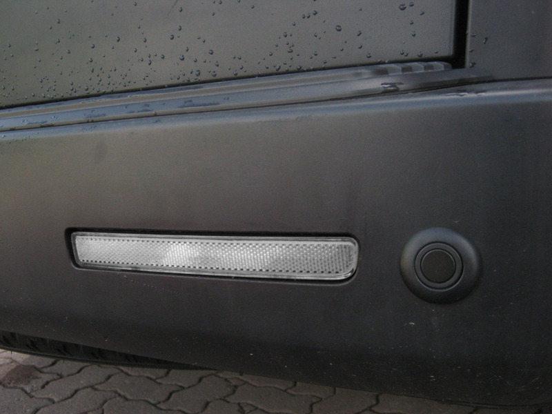 Clear Bumper Reflector LED Brake Light For Range Rover Sport L320 LR3 LR4