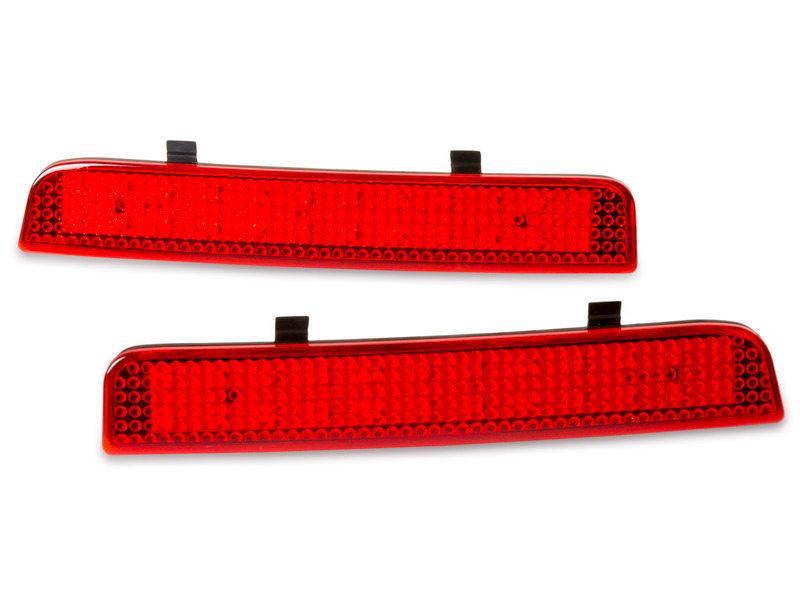Red Lens Bumper Reflector LED Tail Brake Light L322 Range Rover LR2 Freelander
