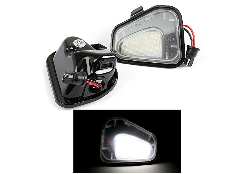 LED Under Side Mirror Puddle Light For VW EOS CC Passat