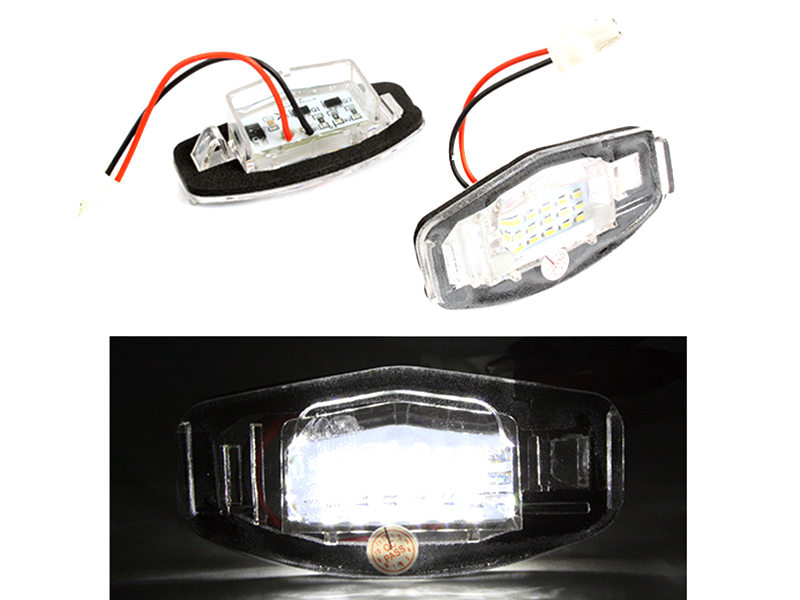 18 LED License Plate Light Lamp Honda Civic Accord Odyssey Acura TL TSX