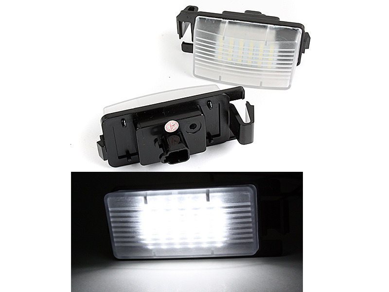 LED License Plate Light For Nissan Versa GT-R Cube 350Z Infiniti G35 G37