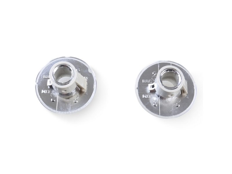 Bulb Side Marker Lights Round Type Clear Lens For Land Rover Range Rover 2003-2012