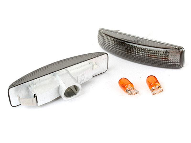 Bulb Side Marker Signal Lights Smoke Lens For Range Rover Sport LR3 2006-2009