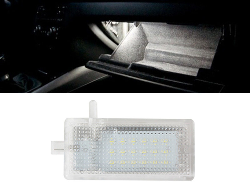 18LED Glove Box Light BMW E46 E87 E90 E81 X3 E53 X5 Mini Cooper R50 R52 R55 R56