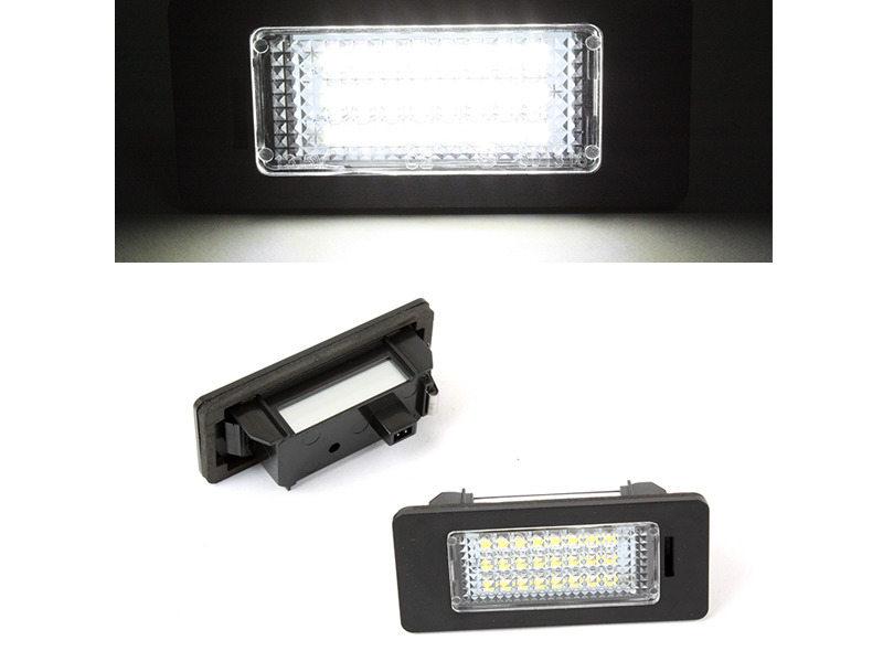 LED License Plate Light Lamps Audi A1 A6 A7 TT VW Jetta Passat