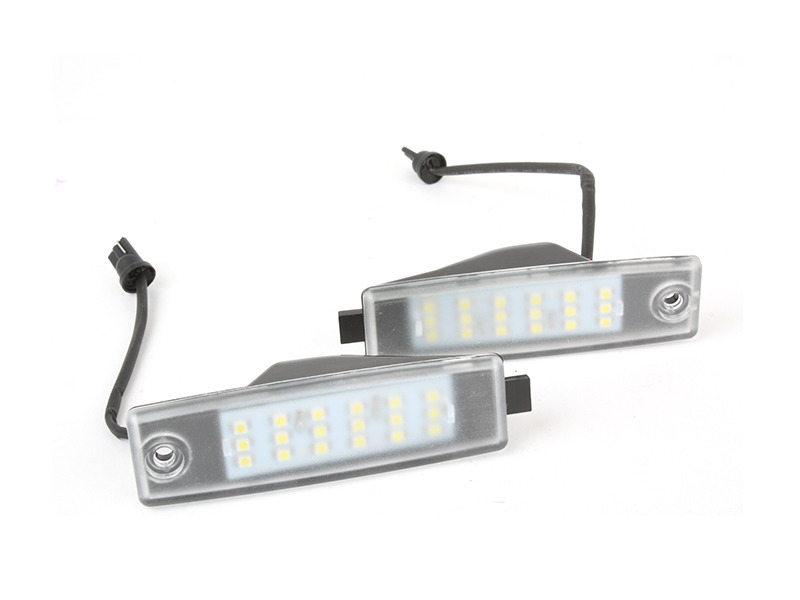 LED License Plate Light Lamps For Toyota Hiace H200 RAV4 Vanguard