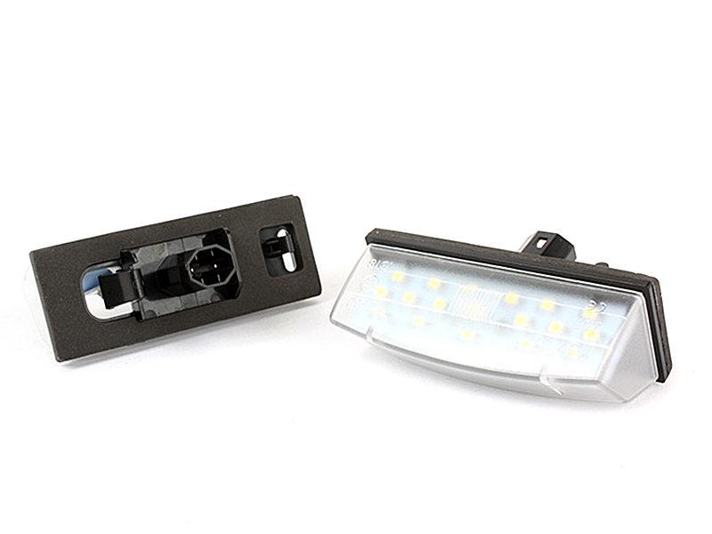 LED License Plate Light Lamps For Toyota Prius Matrix Venza Lexus CT200h