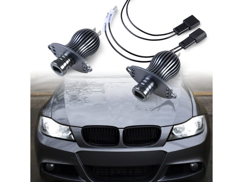 LED Angel Eye Halo Ring Light Bulb Kit 20W White For BMW E90 E91 Facelift LCI
