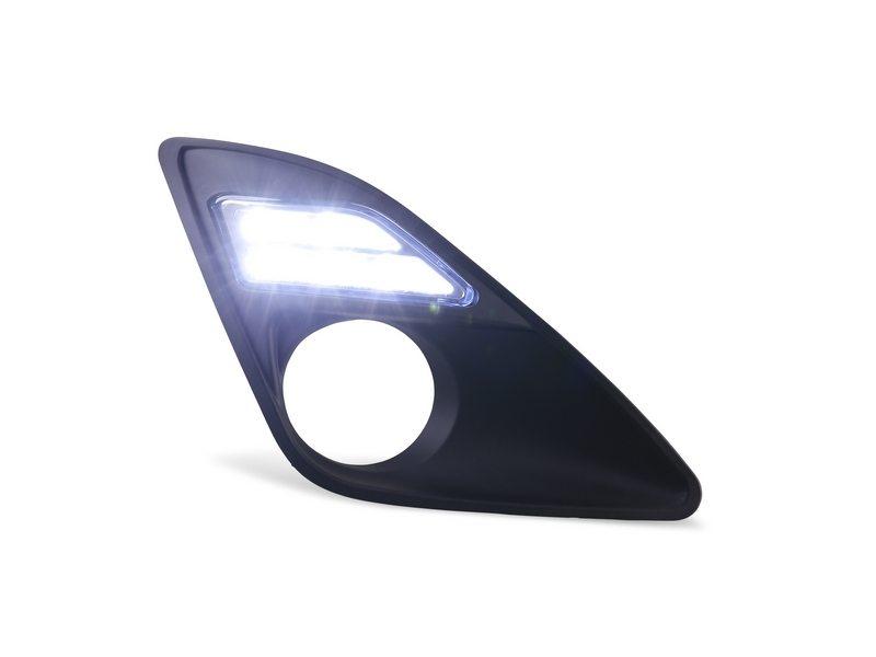 LED Fog Lamp Cover DRL Daytime Running Light For Toyota Camry US Model 2012-2014