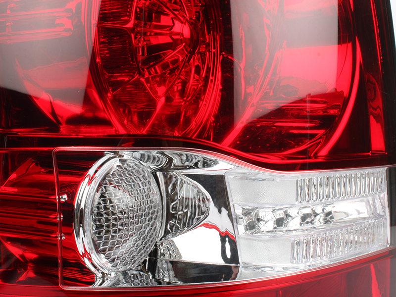 LED Tail Light Rear Lamp Black Housing For Land Range Rover Sport L320 2006-2009
