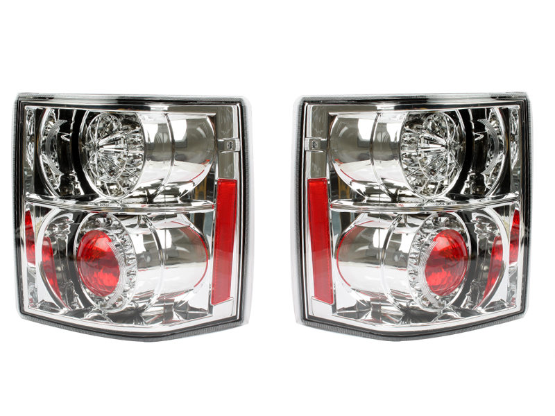LED Tail Light Rear Lamp Chrome Housing For Land Range Rover L322 02-09