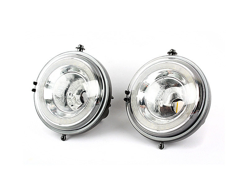 LED DRL Daytime Running Light Halo Fog Lamp Kit For Mini Cooper R55 R56 R58 R60