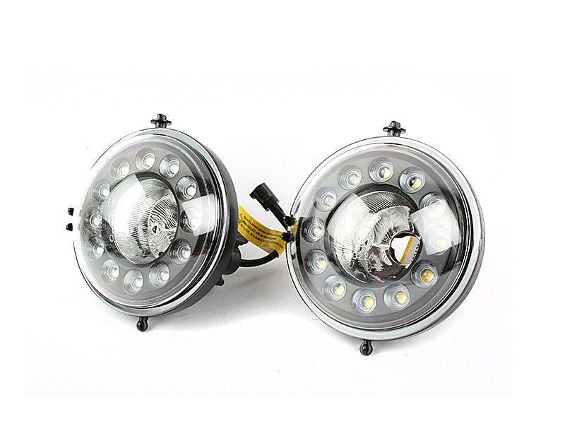 12 LED DRL Daytime Running Light Fog Lamp Kit For Mini Cooper R55 R56 R58 R60