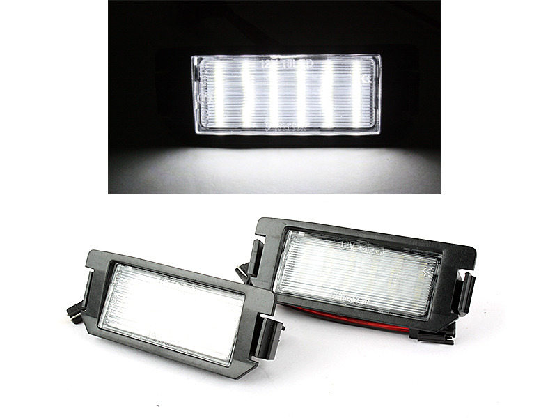 LED License Plate Light Lamps For Hyundai Coupe GK SIII Tiburon