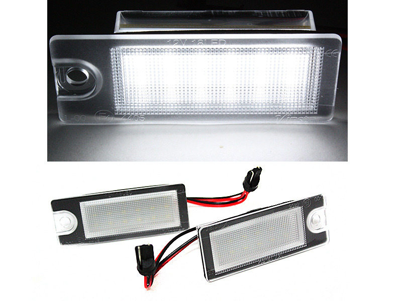 LED License Plate Light Lamps For Volvo X70 XC70 S60