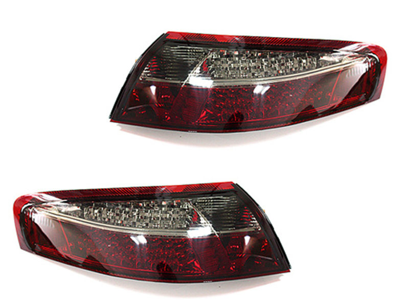 LED Tail Light Rear Lamp Smoke + Red For Porsche 996 911 Carrera 98-04