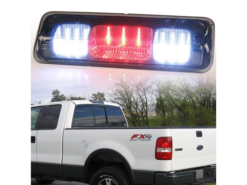 LED Rear Stop 3rd Brake Light For Ford F-150 F150 Smoke Lens 04-07
