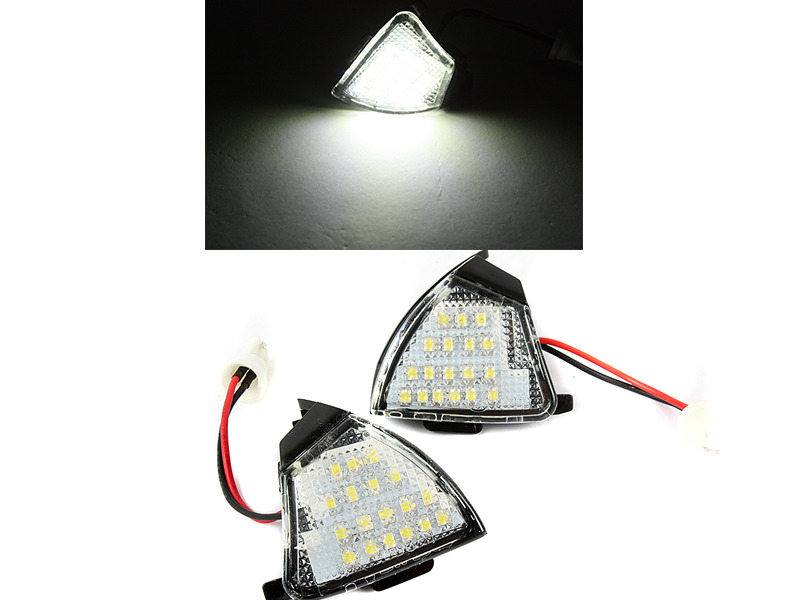 LED Under Side Mirror Puddle Light For VW Golf 5 Passat B6 Jetta Mk3 Touran
