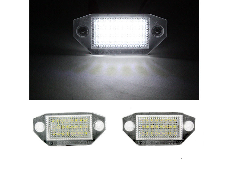 6000K 18 LED License Plate Light Lamps For Ford Mondeo Mk3 00-07
