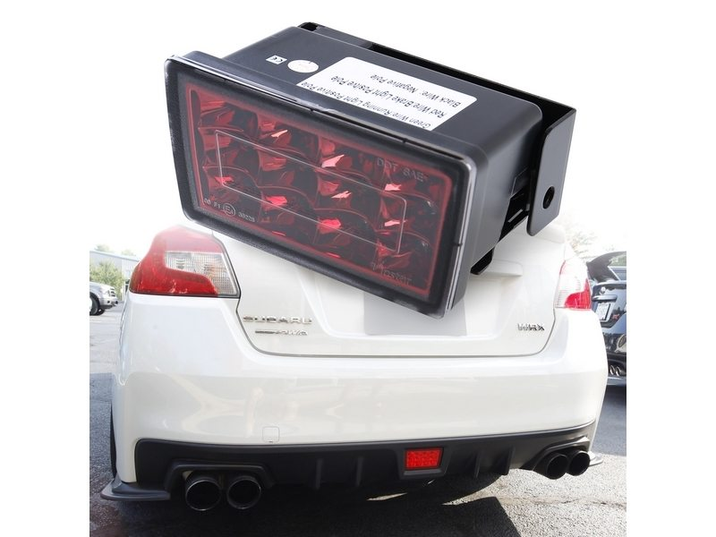 JDM F1 Style Rear Fog LED Brake Light For Subaru Impreza WRX STi Red
