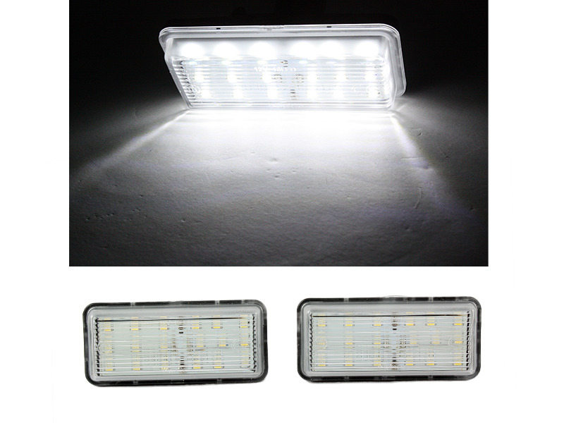 6000K 18 LED License Plate Light Lamps For Lexus LX470 GX470 Toyota Land Cruiser