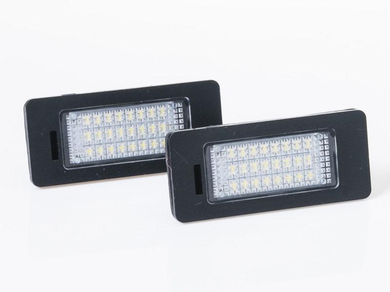 LED License Plate Light Lamps For Audi A4 A5 A6 A7 TT VW Passat Jetta Touareg